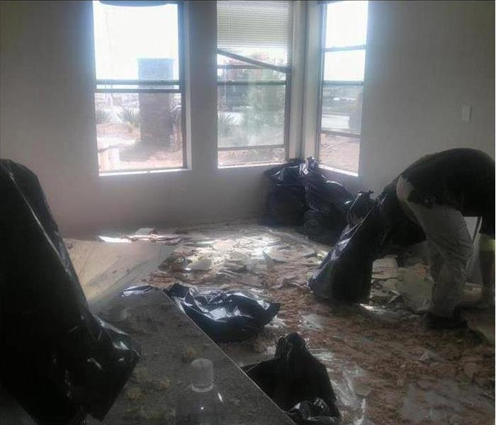 Water Damage – Superior Apartment Before