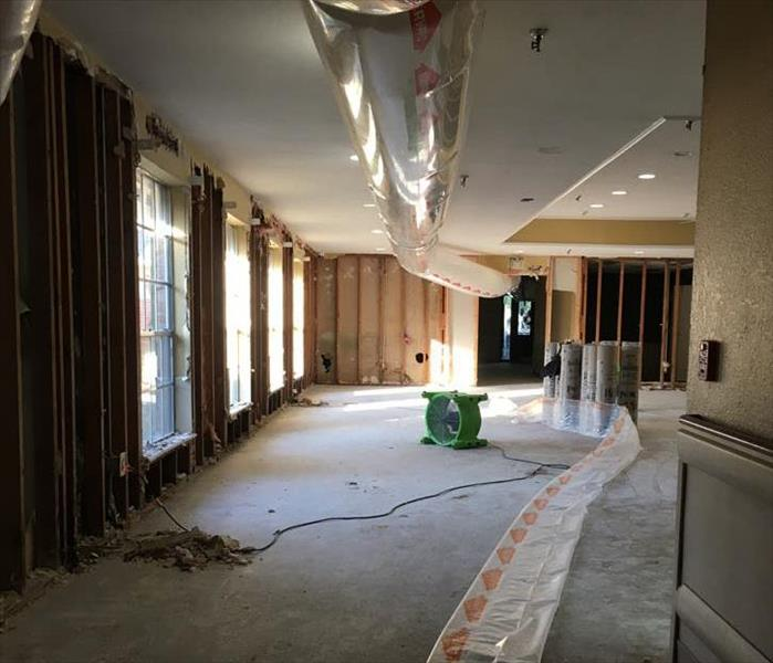 Community Center in Duluth Receives Storm Damage Help from SERVPRO Before