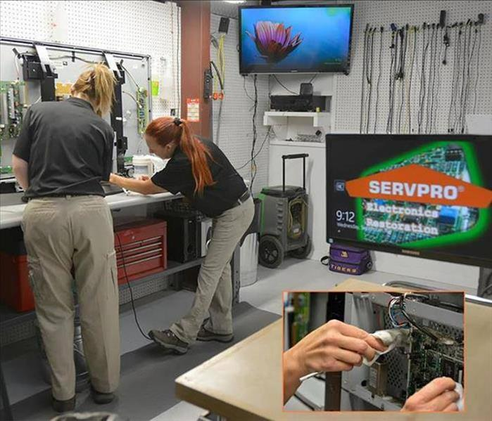 ELECTRONICS RESTORATION | SERVPRO of The Twin Ports